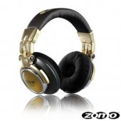 HD-1200 Professional Gold DJ Headphones